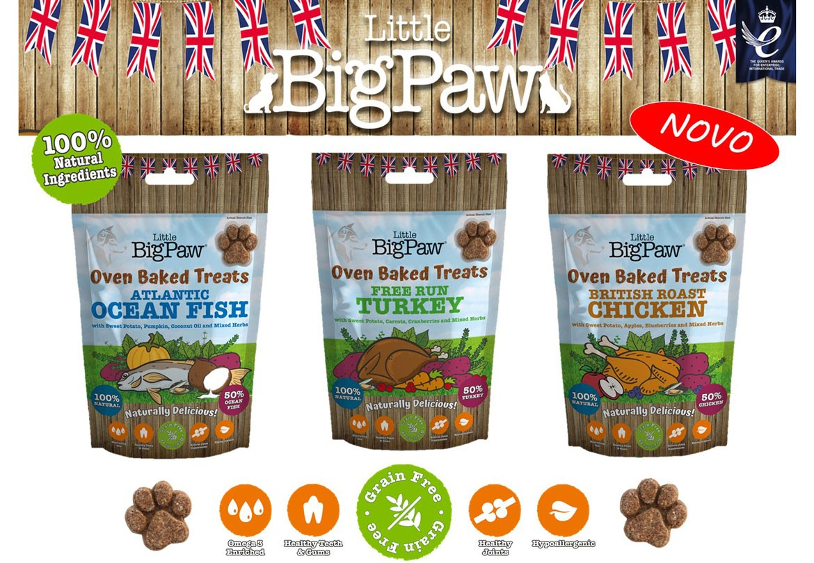 Little BigPaw Oven Baked Treats for Dogs