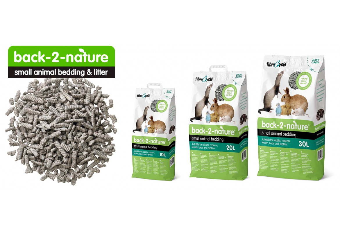 Back-2-nature® for small animal bedding & litter